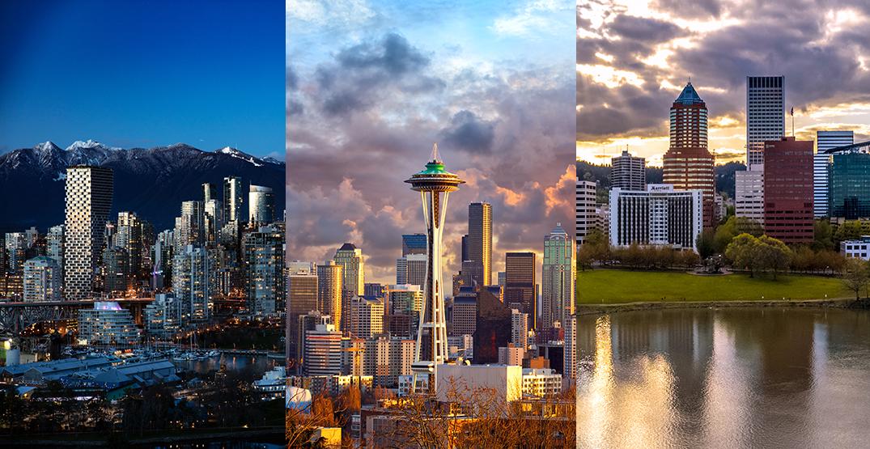 Cascadia mega-region should build hub cities for smart growth: report