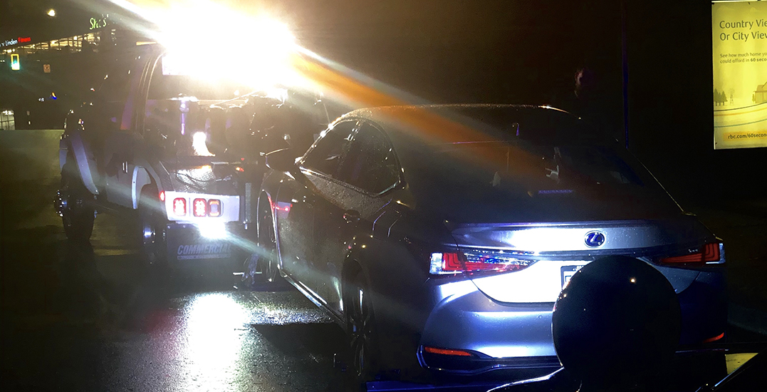 Police impound vehicle after catching impaired driver in North Vancouver