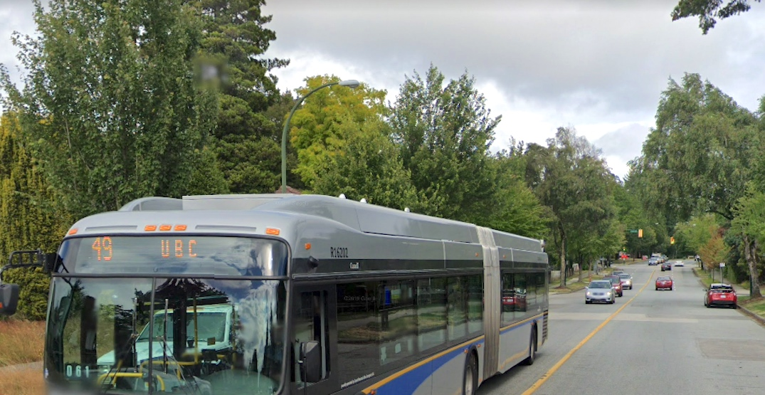 New bus-only lanes coming to Granville Street and 49th Avenue corridors