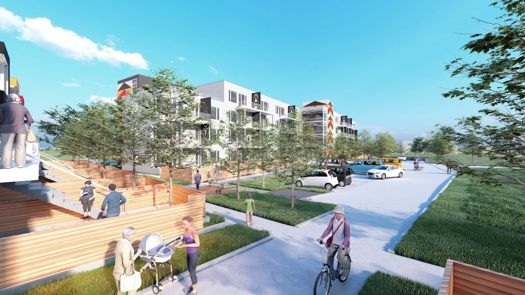 Xwemelch'stn Housing Project squamish first nation capilano reserve north vancouver