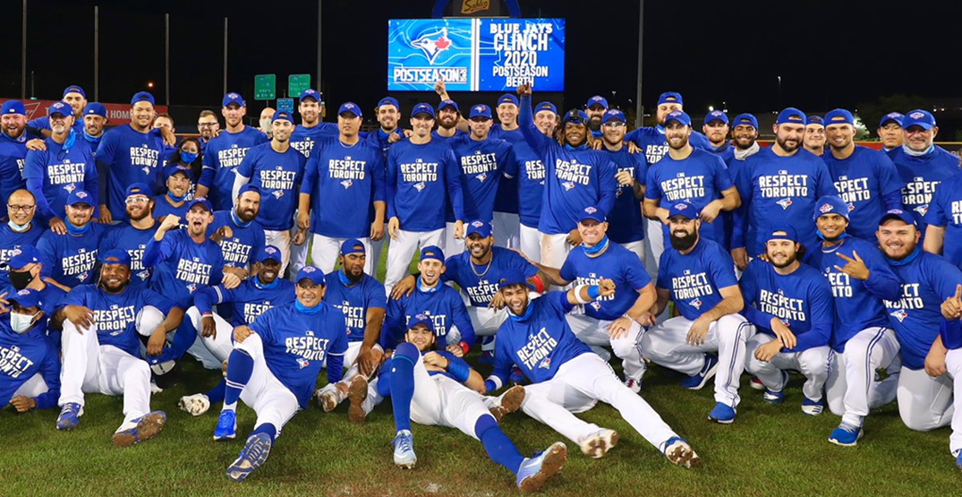 Blue Jays clinch playoff spot for first time since 2016