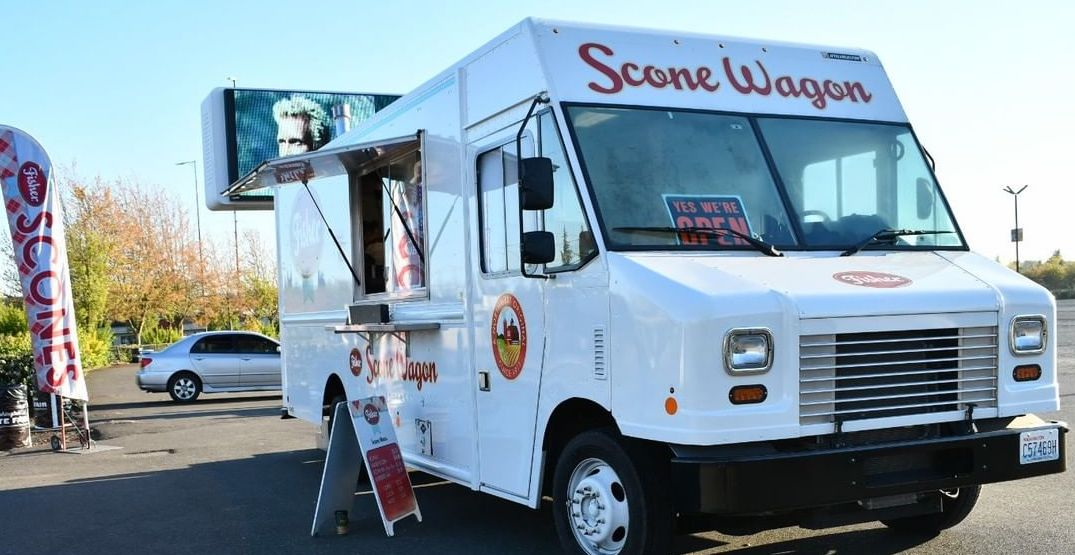 Everyone's favorite scone wagon will be parked in Bellevue next month