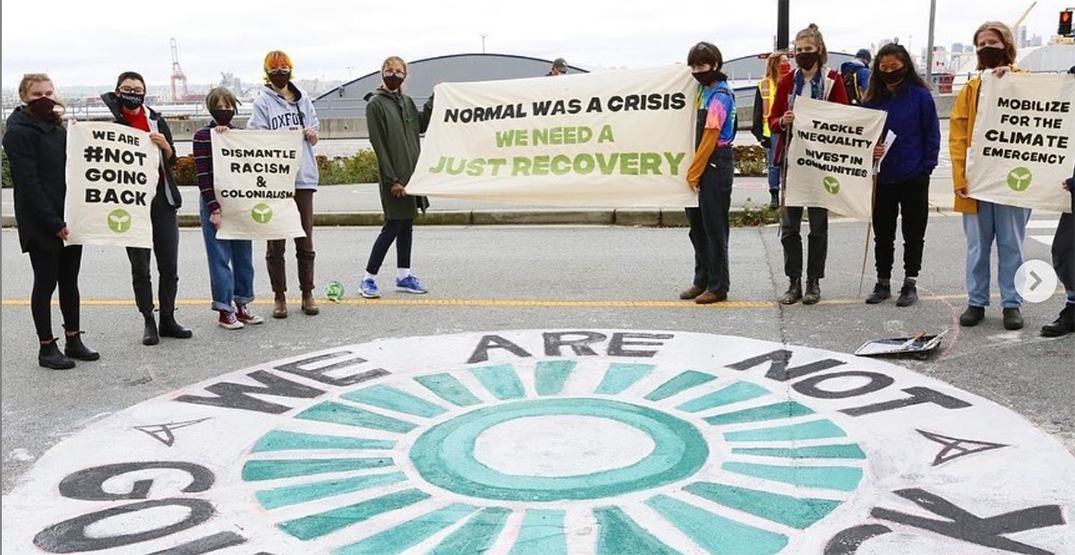 Teens demand climate action at North Vancouver protest