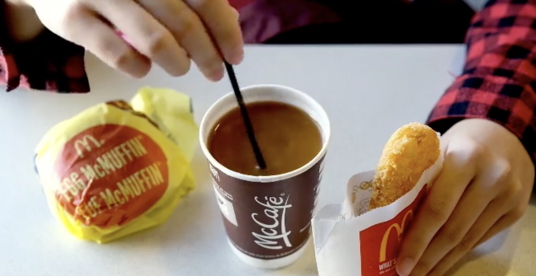 McDonald's Canada is offering free coffee for teachers on October 5