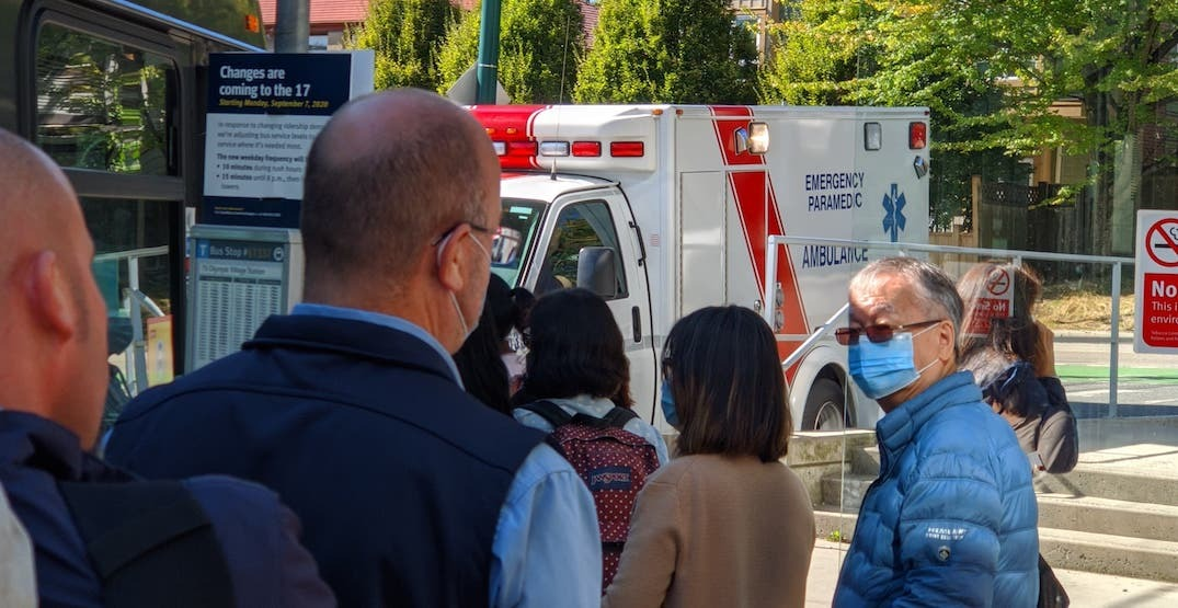 """UPDATED: Marine Drive SkyTrain Station closed due to """"medical emergency"""""""