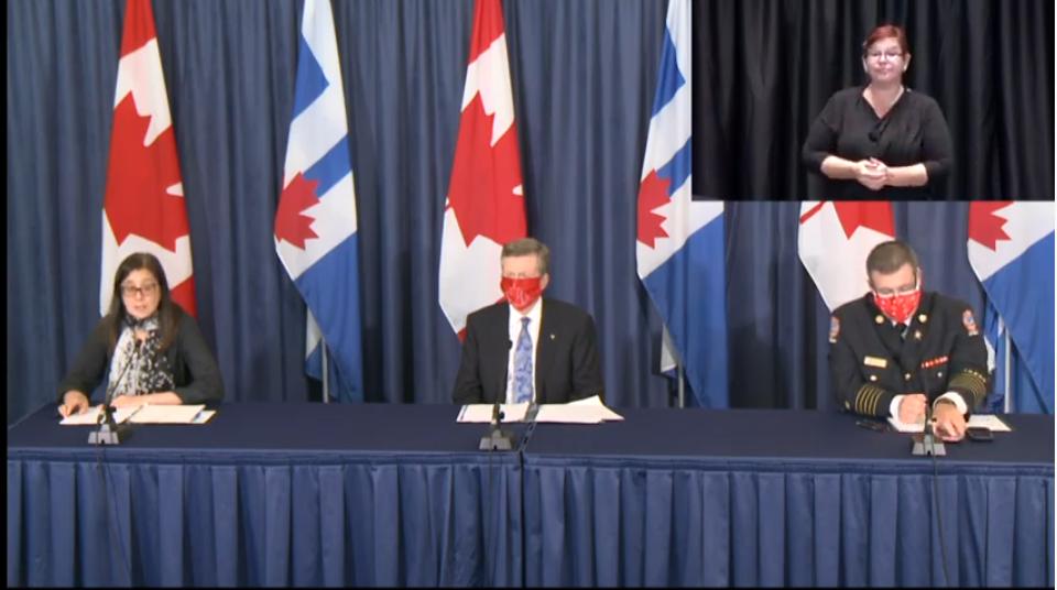 "There's an ""immediate and rising risk"" of COVID-19 resurgence in Toronto: de Villa"