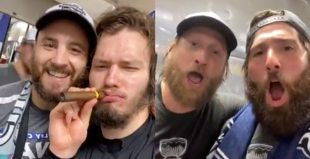 Lightning players celebrate Stanley Cup on Instagram from NHL bubble (VIDEOS)