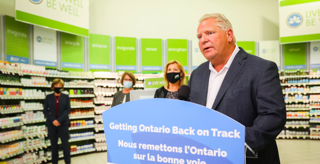 Ford doesn't support Toronto's recommendation to decriminalize small possession of drugs
