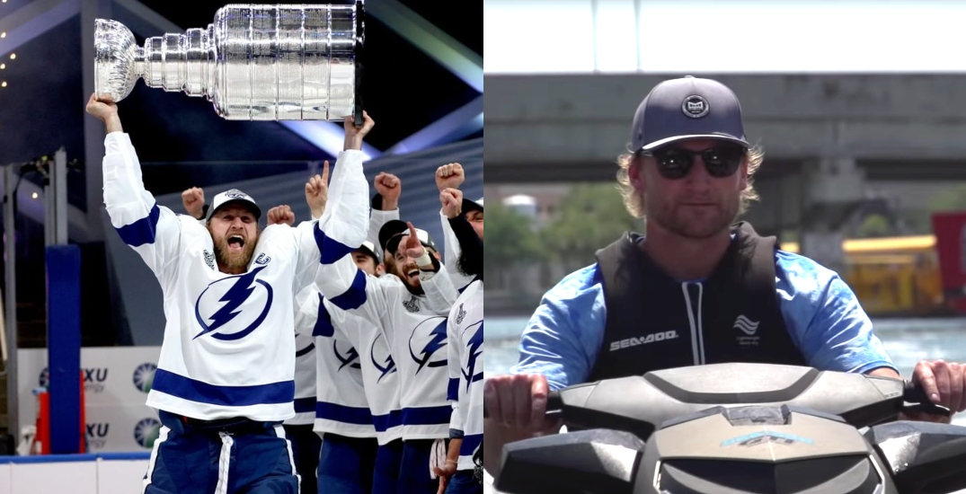"""Tampa Bay holding physically distanced """"boat parade"""" to celebrate Lightning Stanley Cup"""