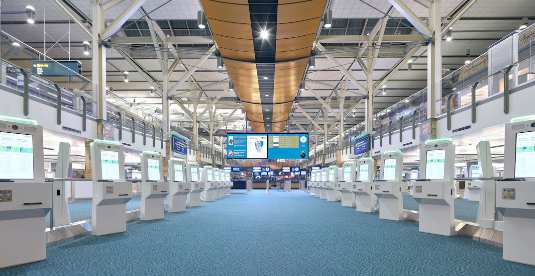 Self-cleaning, contactless border control kiosks developed by Vancouver International Airport