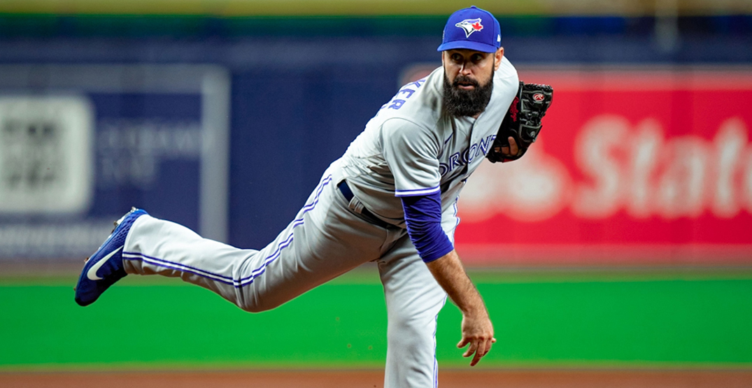Blue Jays on the brink of elimination after loss in playoff opener