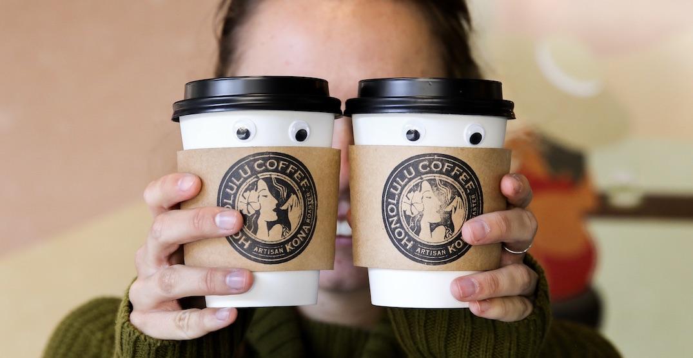 Honolulu Coffee is offering buy-one-get-one FREE drinks on October 1
