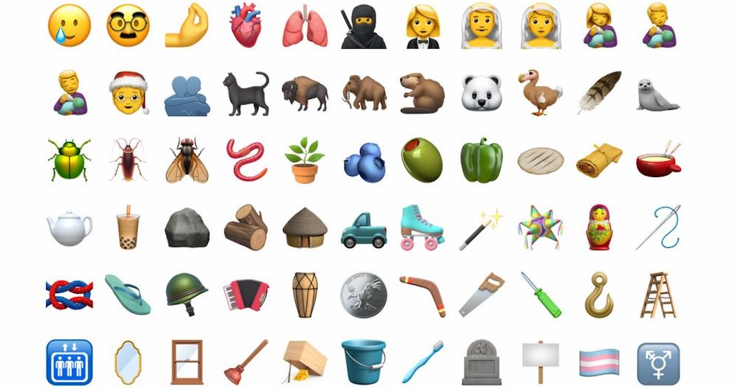 More than 100 new emojis will be rolling out this fall