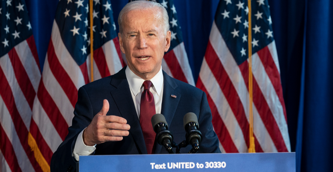 """We believe we will be the winner"": Biden"