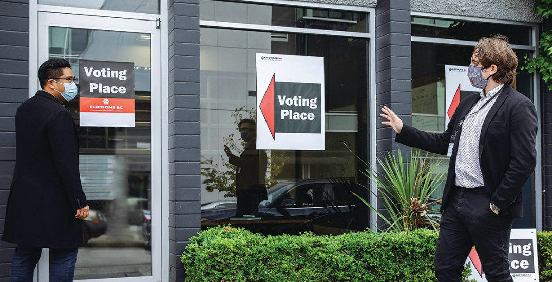 Here's how to vote safely in BC during the pandemic