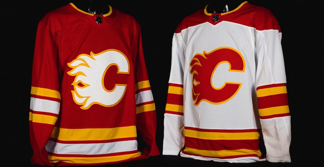 Calgary Flames officially unveil new full-time retro uniforms