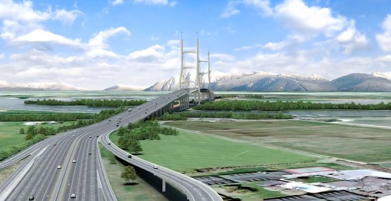 BC Liberals promise $8 billion infrastructure plan, including 10-lane George Massey bridge