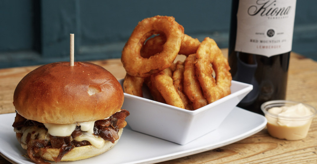 A special bison burger and wine pairing duo is debuting in Seattle this week