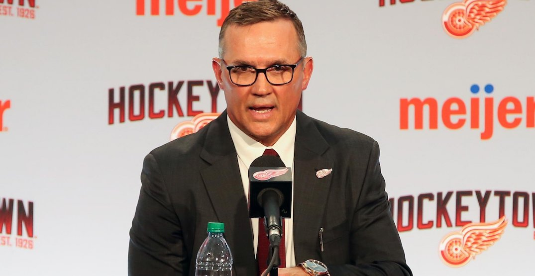 """Red Wings GM Yzerman will participate in draft """"remotely"""" due to coronavirus concern"""