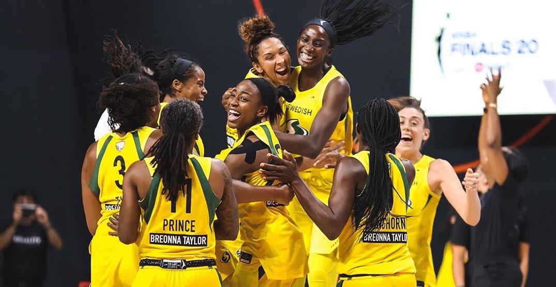 Seattle Storm claims WNBA championship title