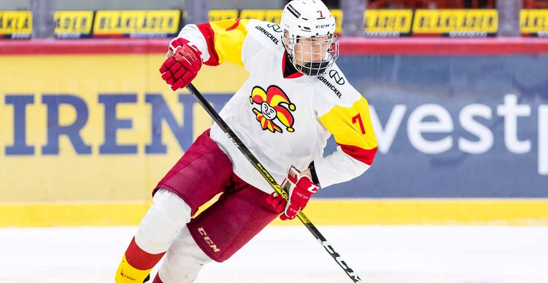 Canucks take Finnish defenceman Joni Jurmo at NHL Draft