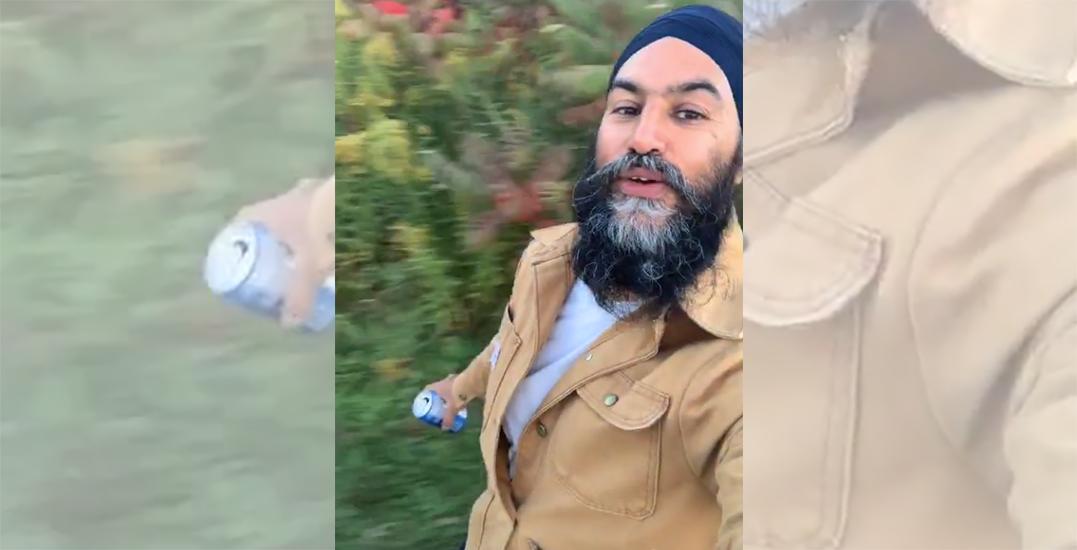 NDP leader Jagmeet Singh recreates viral Fleetwood Mac TikTok