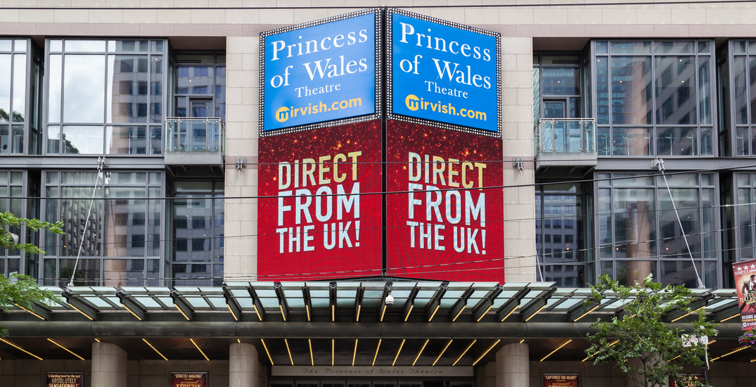 Toronto's Princess of Wales Theatre is reopening next month