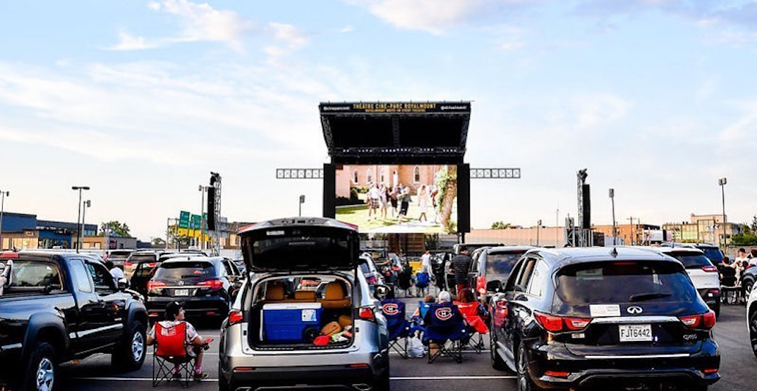 Here are all the drive-in movies in and near Toronto this fall