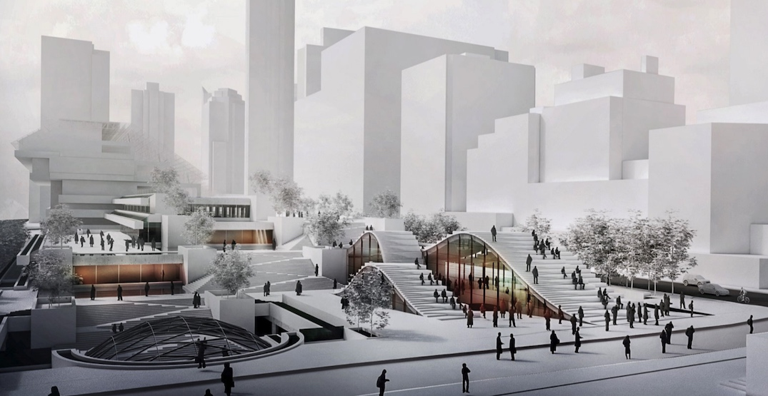 Bing Thom's dream for a world-class museum under Robson Square (RENDERINGS)