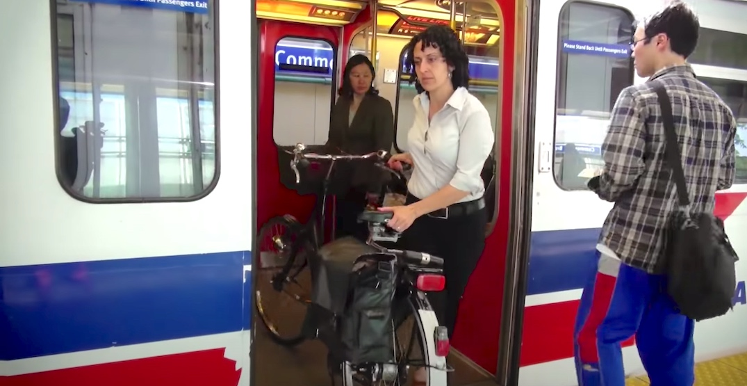 Bikes now allowed on SkyTrain at all times as latest COVID-19 measure