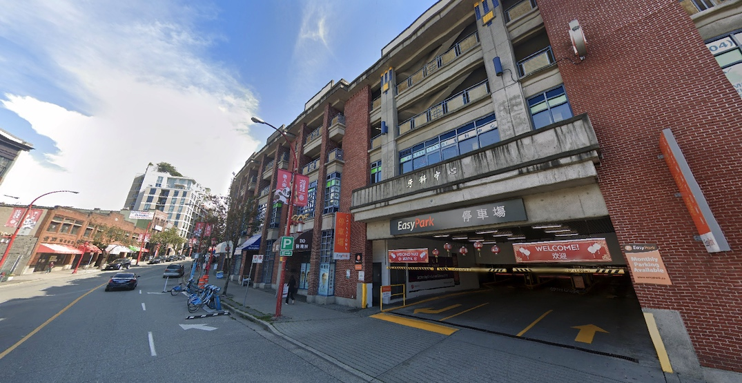 chinatown parkade vancouver