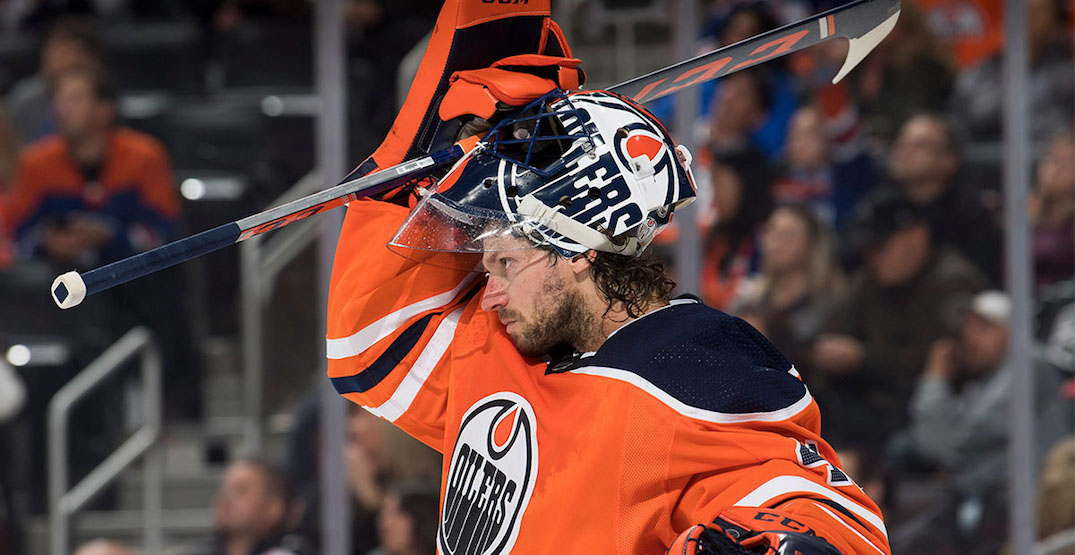 Oilers re-sign free agent goalie Mike Smith to 1-year contract