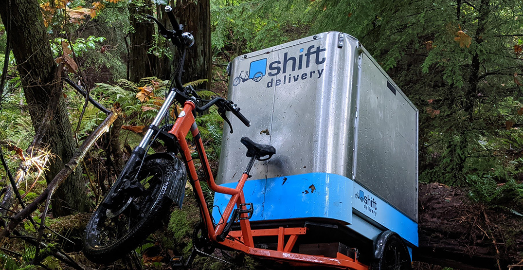 Bike with Thanksgiving meals for seniors stolen, then found in Stanley Park