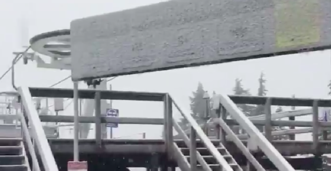 Grouse Mountain sees first snow of the season on Thanksgiving Sunday (VIDEO)