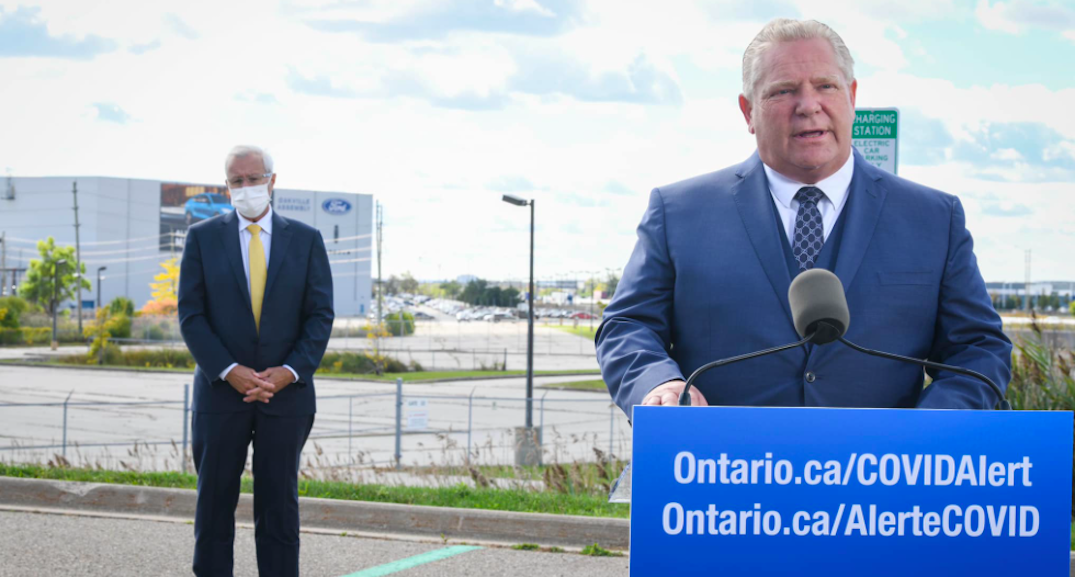 Ford to make announcement as Ontario continues to see high COVID-19 numbers