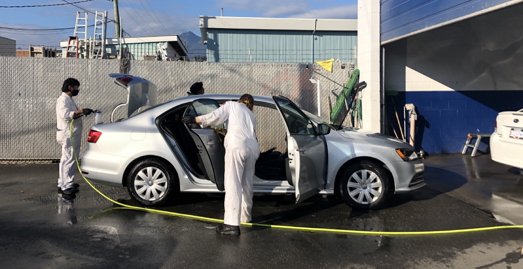 We tested a new way to sanitize our car that lasts for months (PHOTOS)