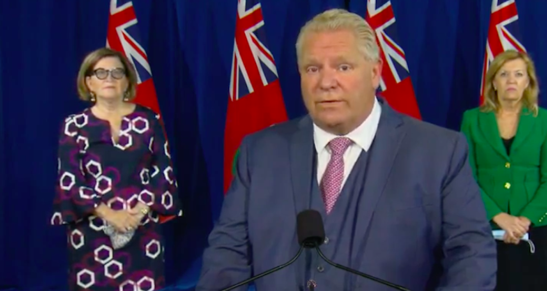 Ford to make announcement with Health Minister this afternoon