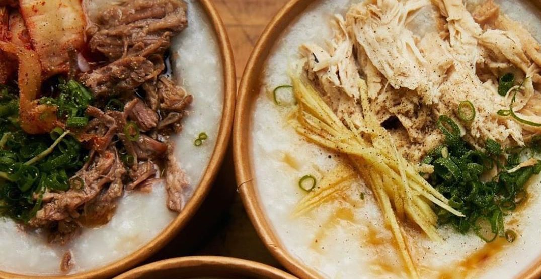 An new congee spot is coming to Seattle next week