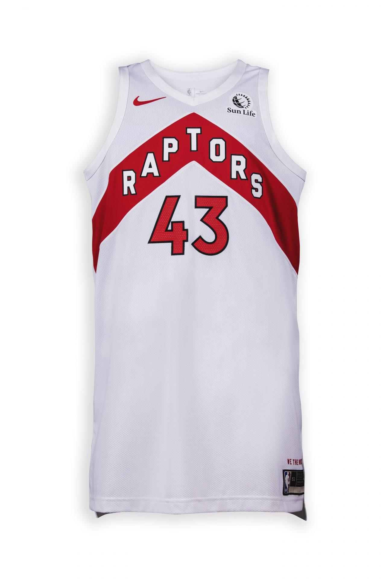 new Toronto Raptors jersey