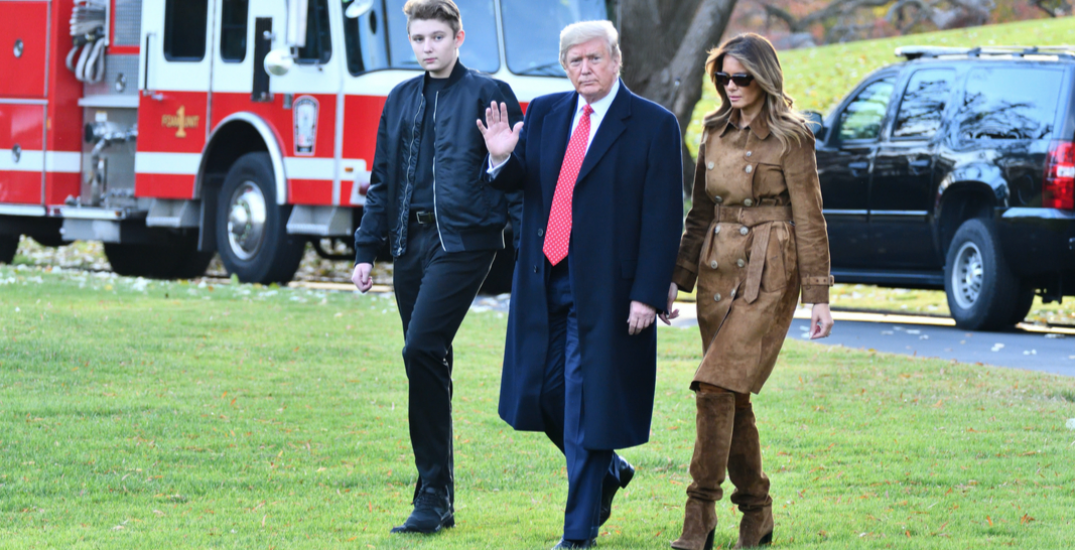 Melania Trump says son Barron also tested positive for coronavirus