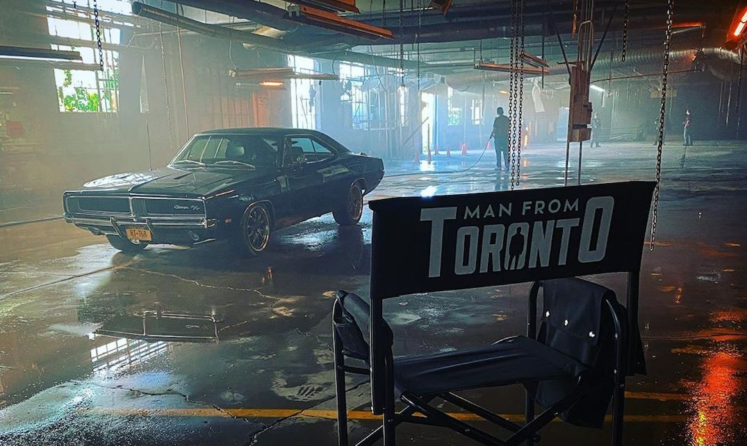 The Man from Toronto is now being filmed in... Toronto