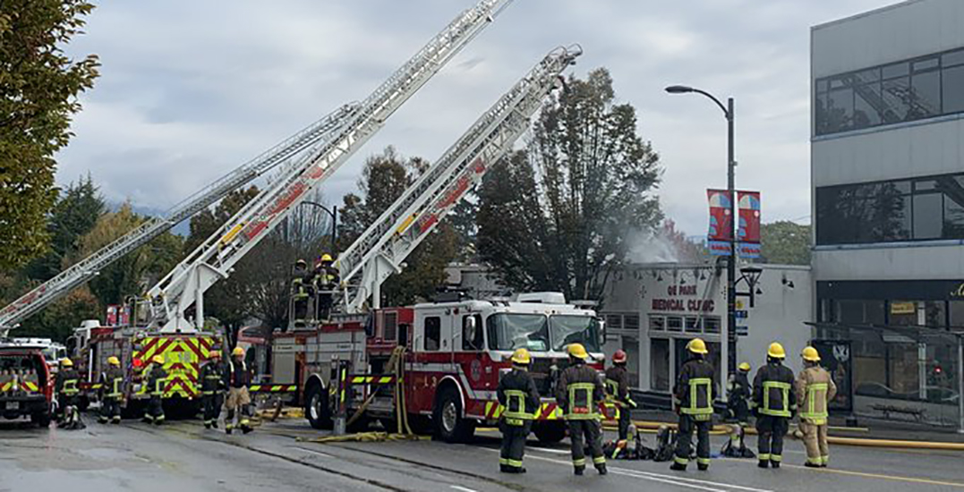 """""""It's absolutely devastating"""": Cambie Village fire destroys local businesses"""