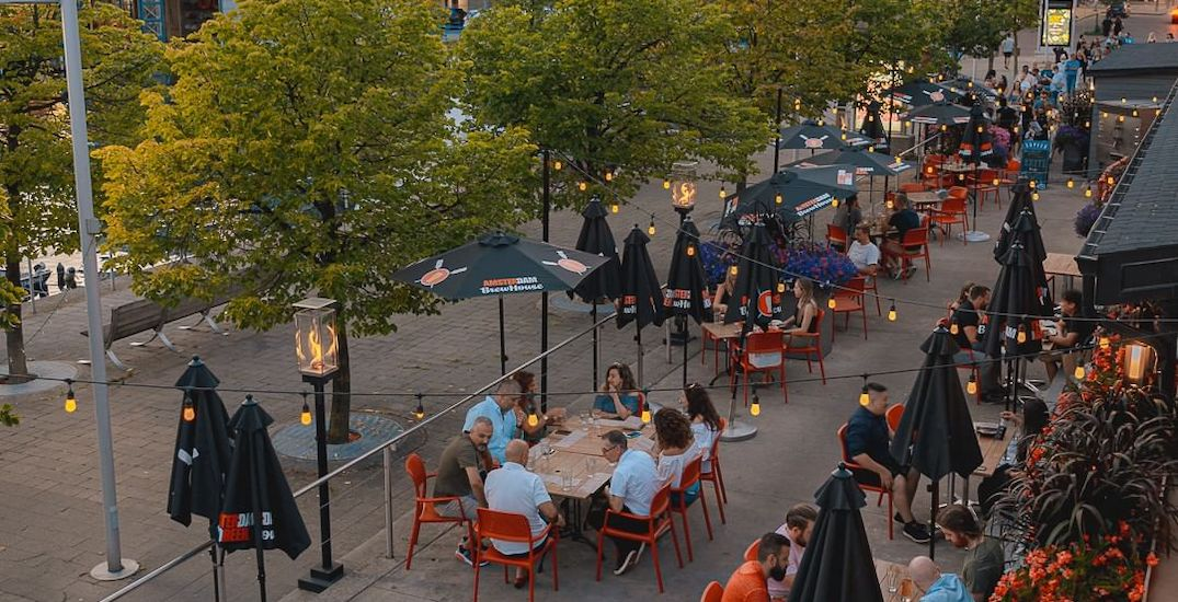 Here's how you can find open patios across Toronto