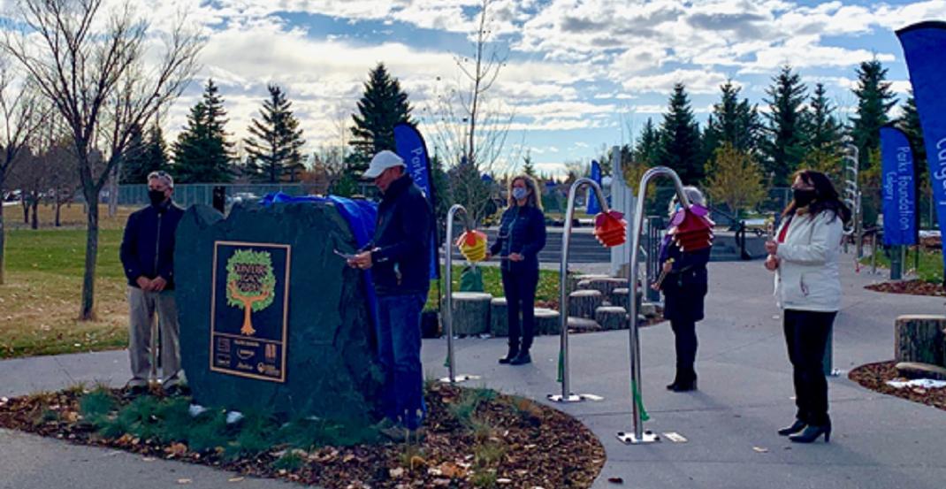 Quinterra Legacy Garden is officially open to the public