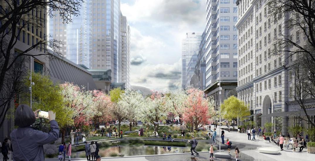 Montreal unveils plans to redesign McGill College Avenue into urban 'mini forest'