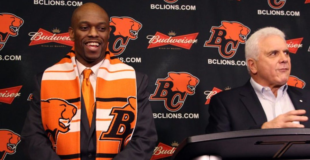 Ed Hervey steps down as BC Lions general manager