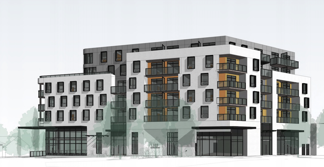 54 rental homes coming to the corner of Kingsway and Clark Drive