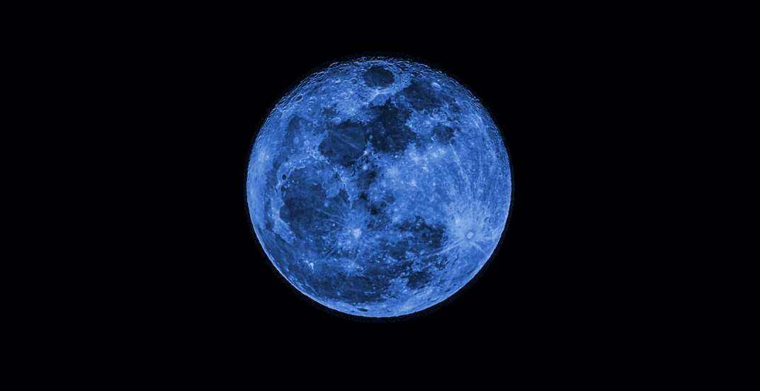 A rare blue moon to light up US skies on Halloween night