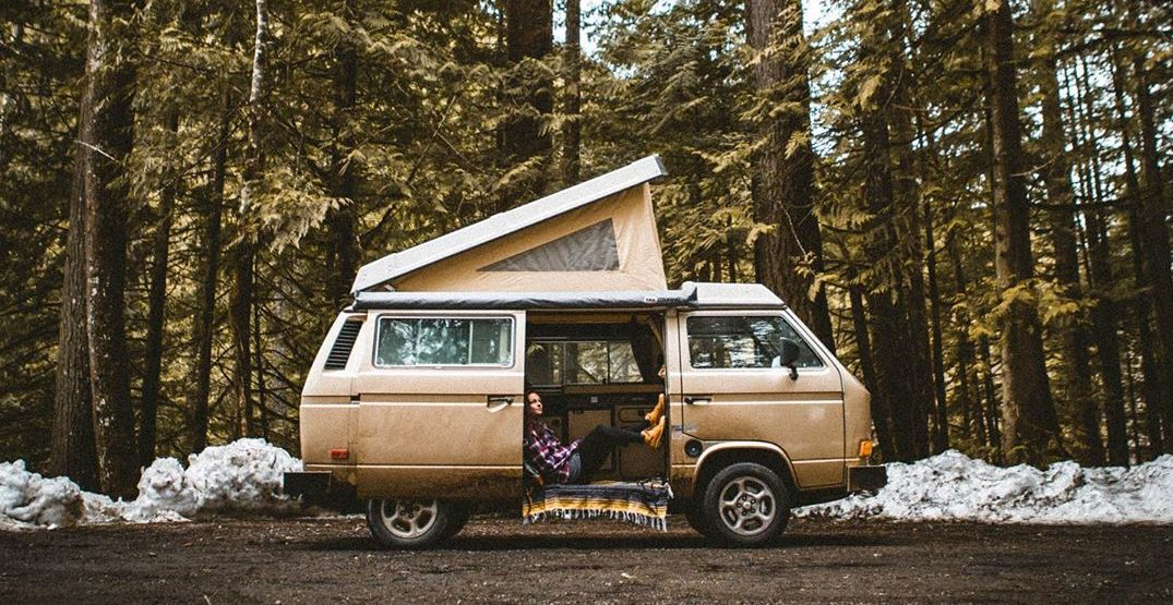 Live the van life for a week or two with Peace Van Rentals in Seattle