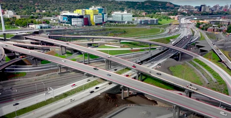 Turcot interchange celebrates opening with virtual inauguration (VIDEO)